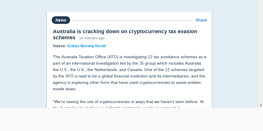 cryptocurrency tax avoidance